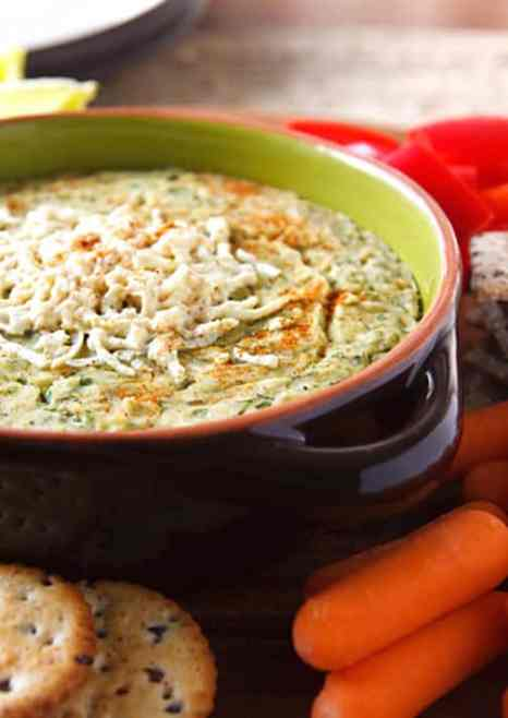 Vegan hot artichoke dip recipe