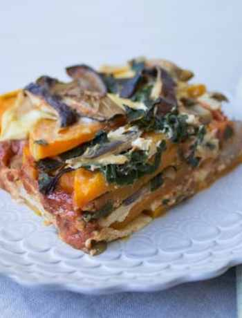 Butternut-Squash Lasagna by Jenne Claiborne from Sweet Potato Soul