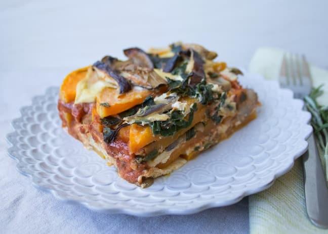 Butternut-Squash Lasagna by Jenne Claiborne from Sweet Potato Soul