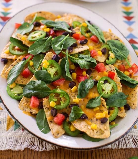Fully loaded vegan nachos recipe