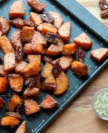 Roasted Sweet Potatoes from Leslie Cerier