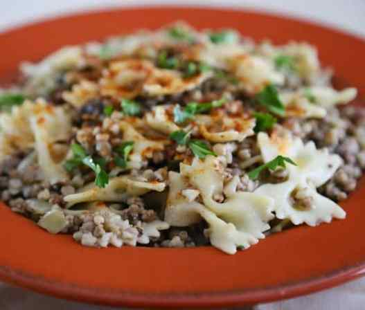 Kasha Varnitchkes recipe