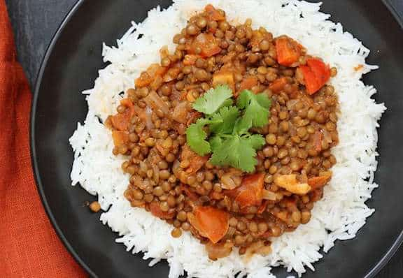 Masala lentil dal by Vegan Richa