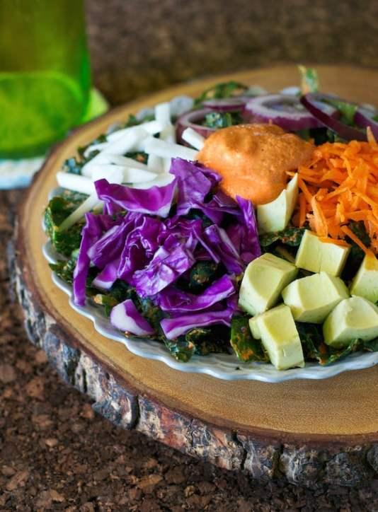 Rawkin Kale Salad by Somer McCowan