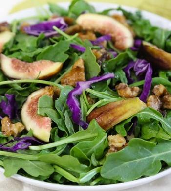 Arugula and Fresh Fig Salad