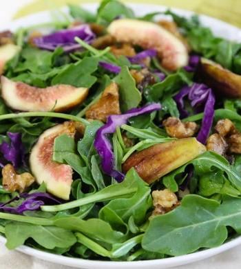 Arugula and Fresh Fig Salad