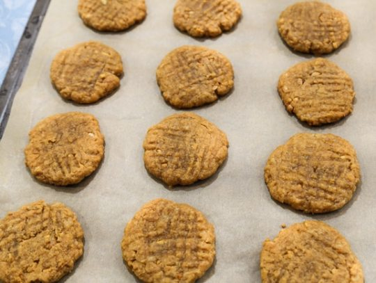 Vegan Peanut Butter Cookies recipe