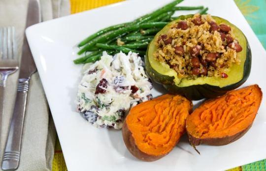 Last-minute vegan Thanksgiving dinner menu