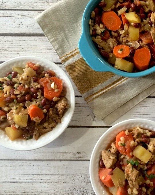 Vegan cholent recipe