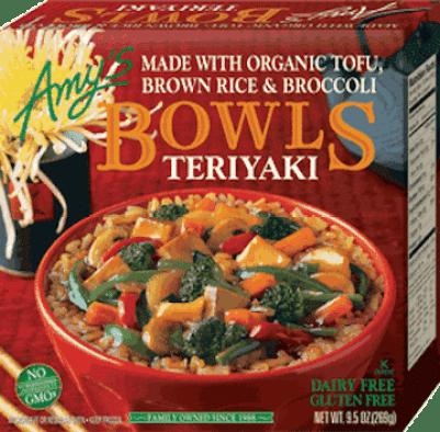 Amy's Teriyaki Rice Bowl