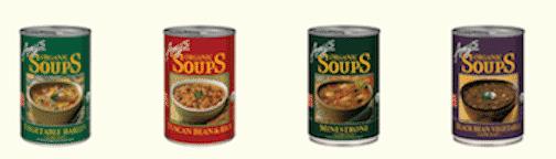Amy's soups - vegan varieties