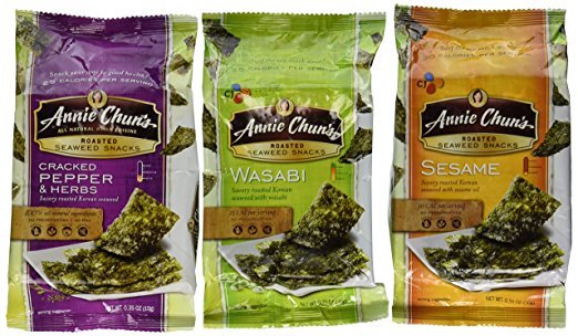 Annie's seaweed snacks