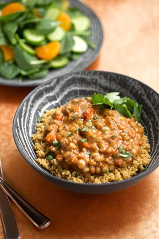 20-minute lentil curry dinner hack