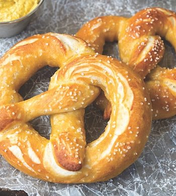NYC-Style street-cart pretzels recipe