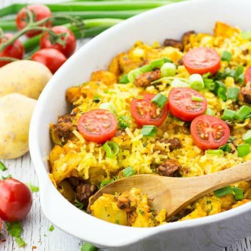 10 Make-Ahead Vegan Breakfast Casseroles For Easy Mornings