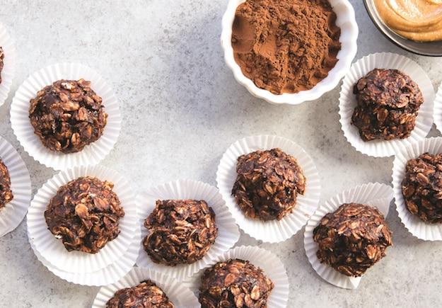 No Bake Chocolate Peanut Butter Drops - China Study Cookbook