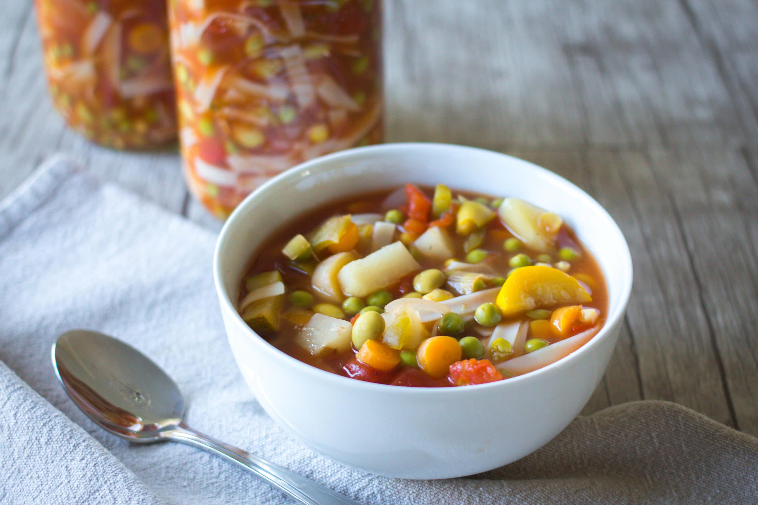Full of Veggies Minestrone Soup