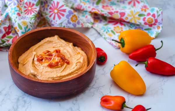 Grilled Pepper Hummus