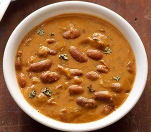 Learn to make Jain Rajma Chawal Recipe in Punjabi Style