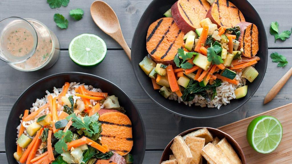أطباق نباتية شهية