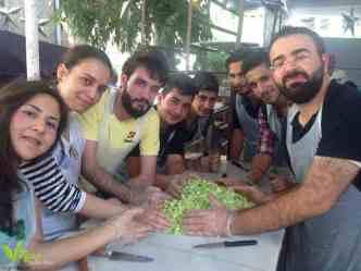 اجتماع النباتيين فريق حياة نباتية الثاني في دمشق