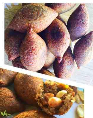 طريقة تحضير كبة الجوز والبطاطا النباتية