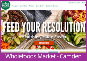 Wholefoods Market - Camden website