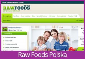 RawFoods Polska website