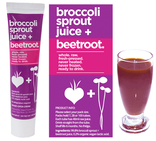 Buy Broccoli Sprout + Beetroot Juice