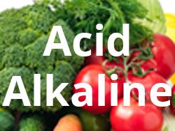 Acid Alkaline Food
