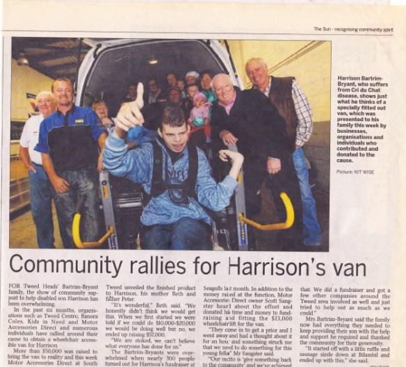 Community For Harrison