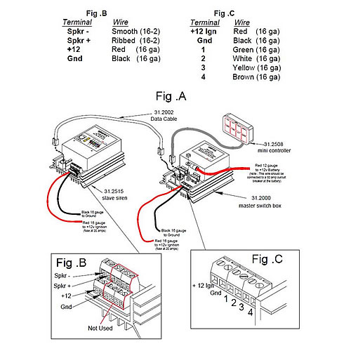 911ep light bar wiring diagram