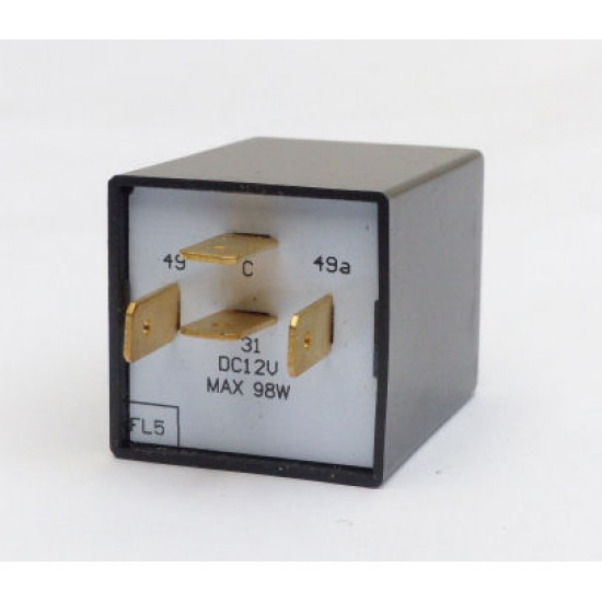12 volt 4 pin electronic flasher relay