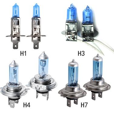 sigle attacchi lampadine auto per tutti le luci
