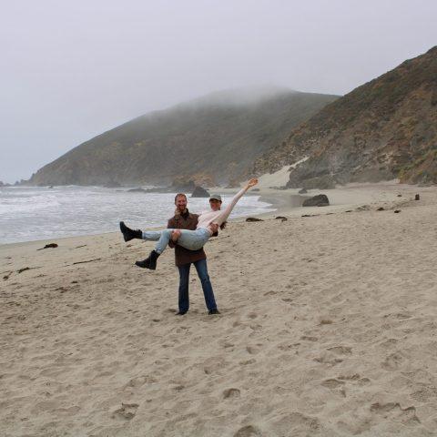 Picnic at Pfeiffer Beach