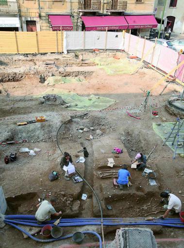 area scavo