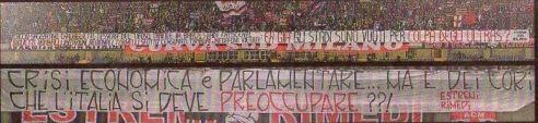 crisi economicama ma  dei  cori italia si deve preoccupare coro 14 settembre 2013