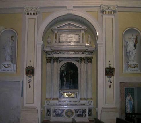 altare  san petronio urna