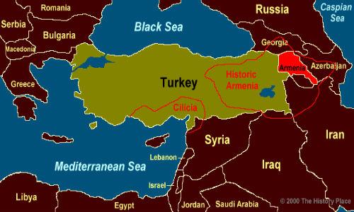 Armenia estensione