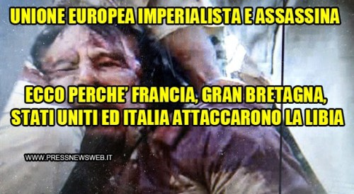 unione europea imperialista assassina