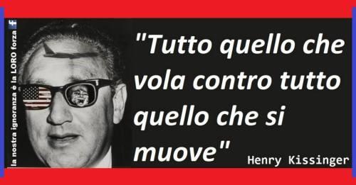 Henry Kissinger tutto quello che vola