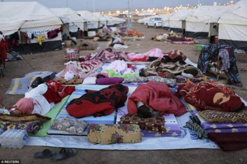 Bajed Kadal refugee camp near Dohuk, in northern Iraq