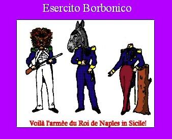 esercito borbonico