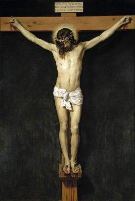 Velasquez - Cristo in croce