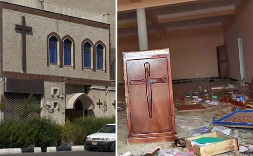 chiesa distrutte islam