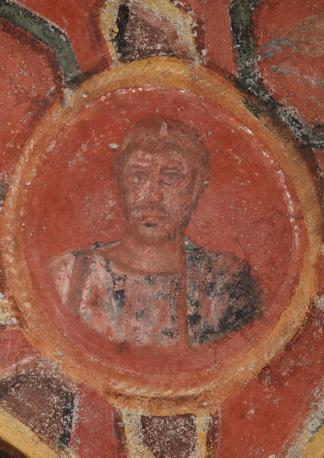Cubicolo degli apostoli, ritratto di Andrea