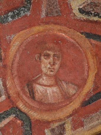 Cubicolo degli apostoli, ritratto di Giovanni