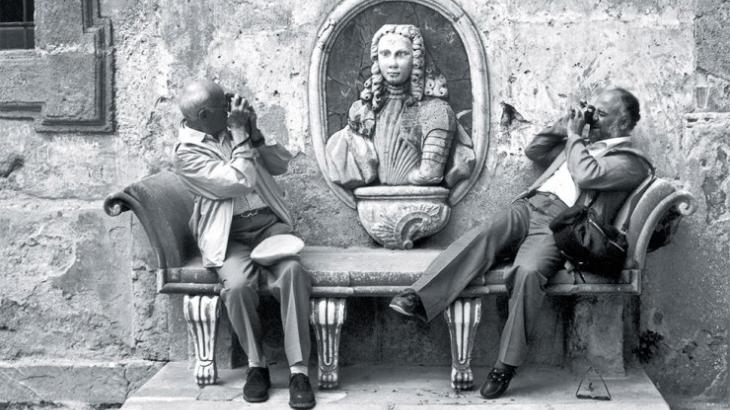 Sicilia paese di bagheria il fotografo francese henri for Bresson fotografo