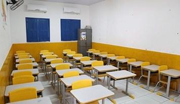 Imagem mostra novo modelo das escolas de Timon