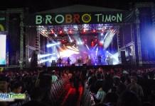 O evento que contou com grandes nomes do rock nacional, animou a população de Timon